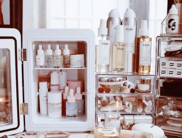Are Mini Fridges The Next Skincare Trend?