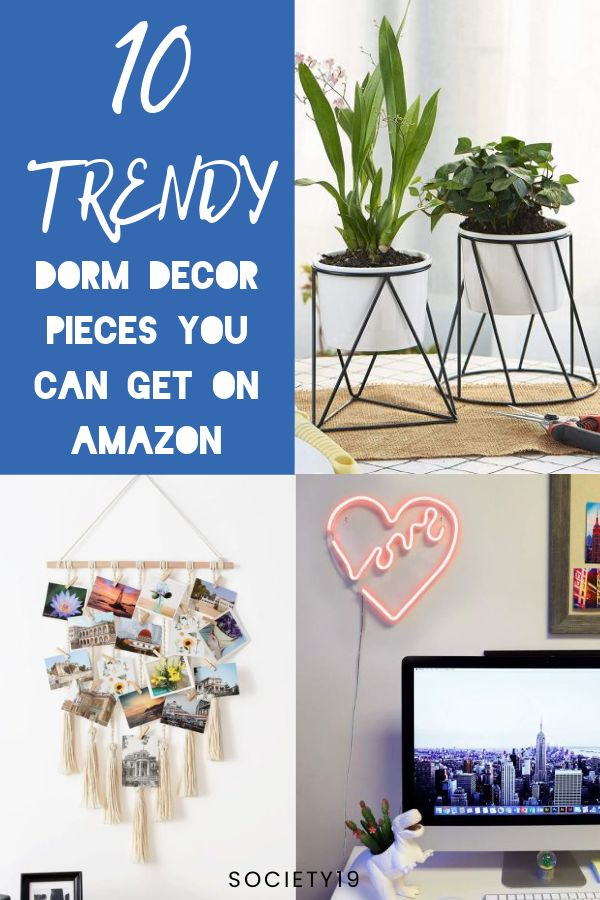 10 Trendy Dorm Decor Pieces You Can Get On Amazon