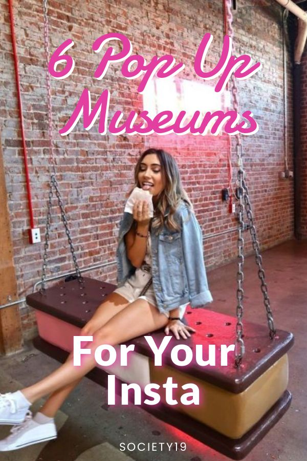 6 Pop Up Museums For Your Insta