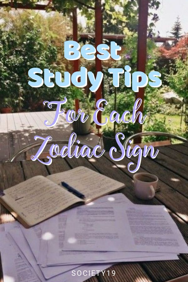 Best Study Tips For Each Zodiac Sign