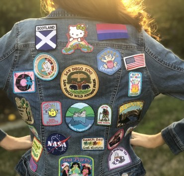 Using Patches and Pins To Spice Up Your Jean Jacket
