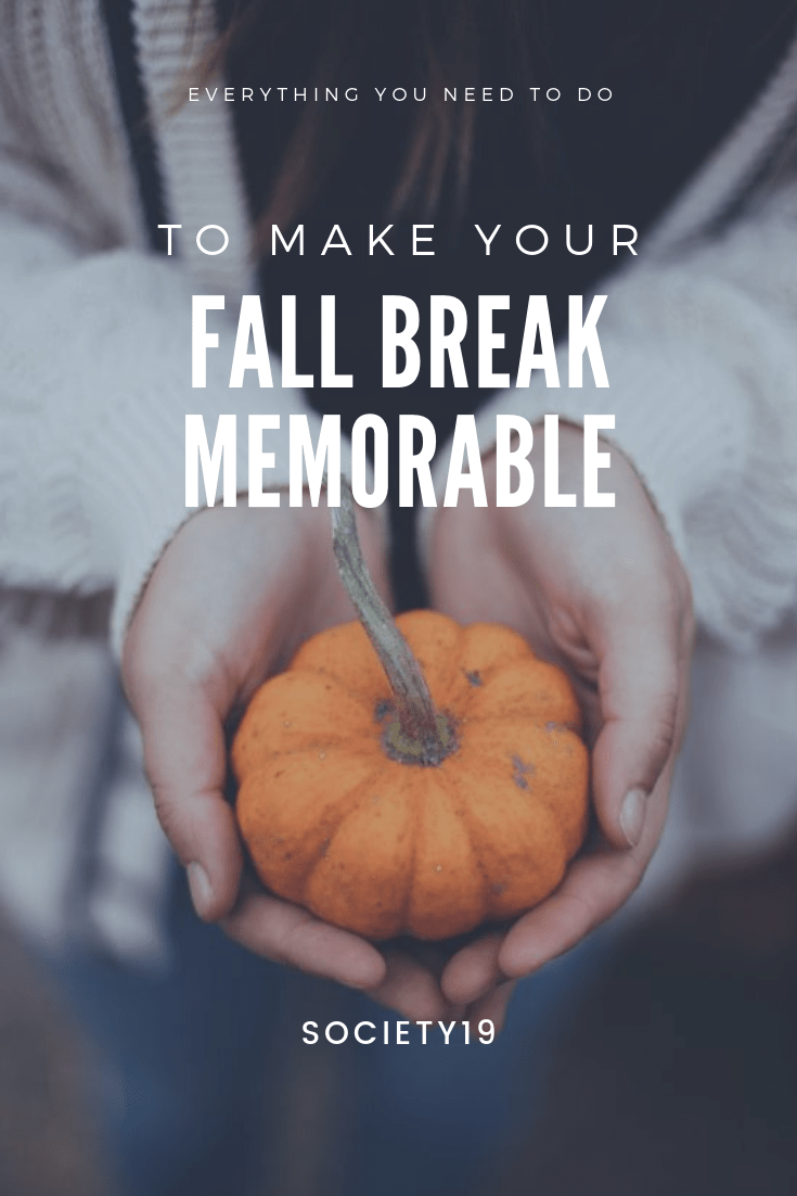Everything You Need To Do To Make Your Fall Break Memorable