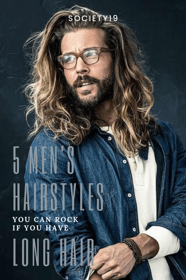 Men's hairstyles, 5 Men's Hairstyles You Can Rock If You Have Long Hair