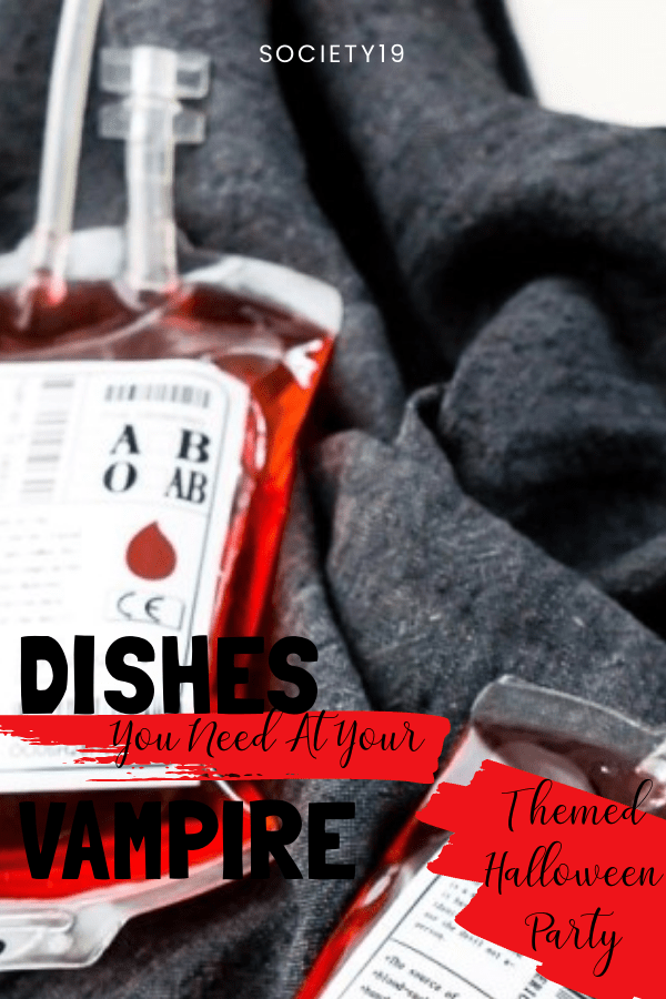 Dishes You NEED At Your Vampire Themed Halloween Party