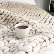 blanket, 5 Different Blankets That Will Liven Up Your Dorm Room