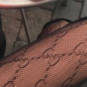 Logo Tights, Logo Tights Will Be Huge This Winter And We Are Obsessed