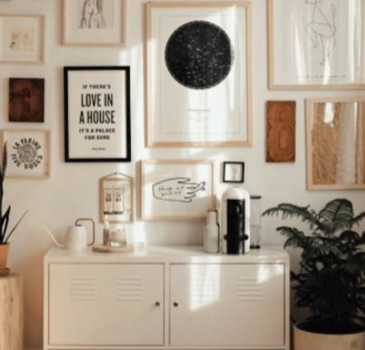 Apartment, 15 Wall Decor Items For Your Apartment