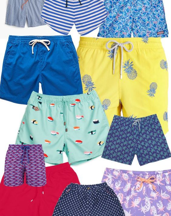 12 Swim Trunks Your Man Will Love To Wear To The Beach This Summer