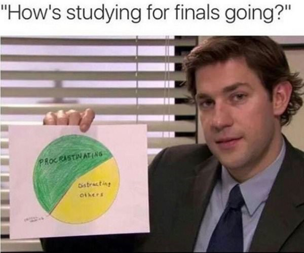 Relatable Finals Week Memes To Get You Through Your Exams Society19