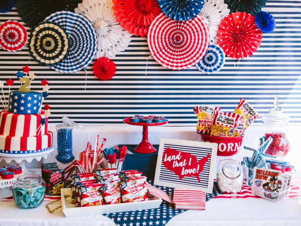 10 Incredible Fourth Of July Party Ideas