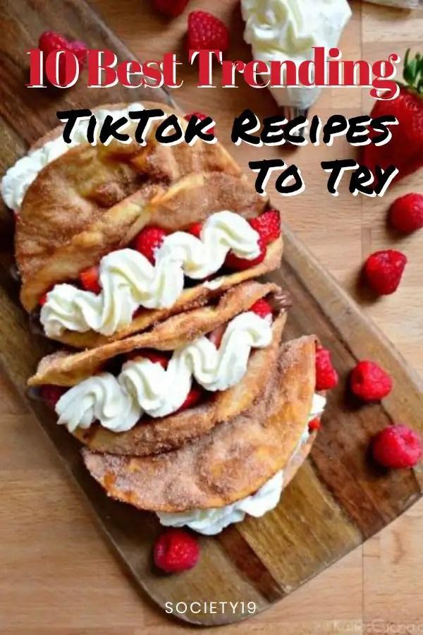 10 Best Trending TikTok Recipes To Try