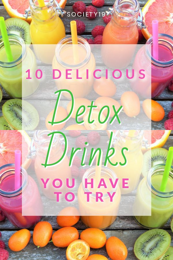 10 Delicious Detox Drinks You Have To Try