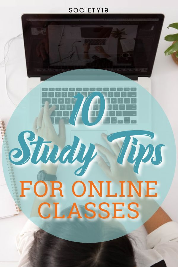 10 Study Tips For Online Classes