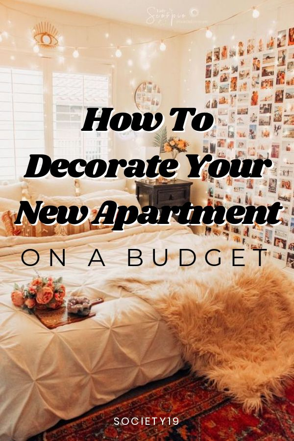 How To Decorate Your New Apartment On A Budget