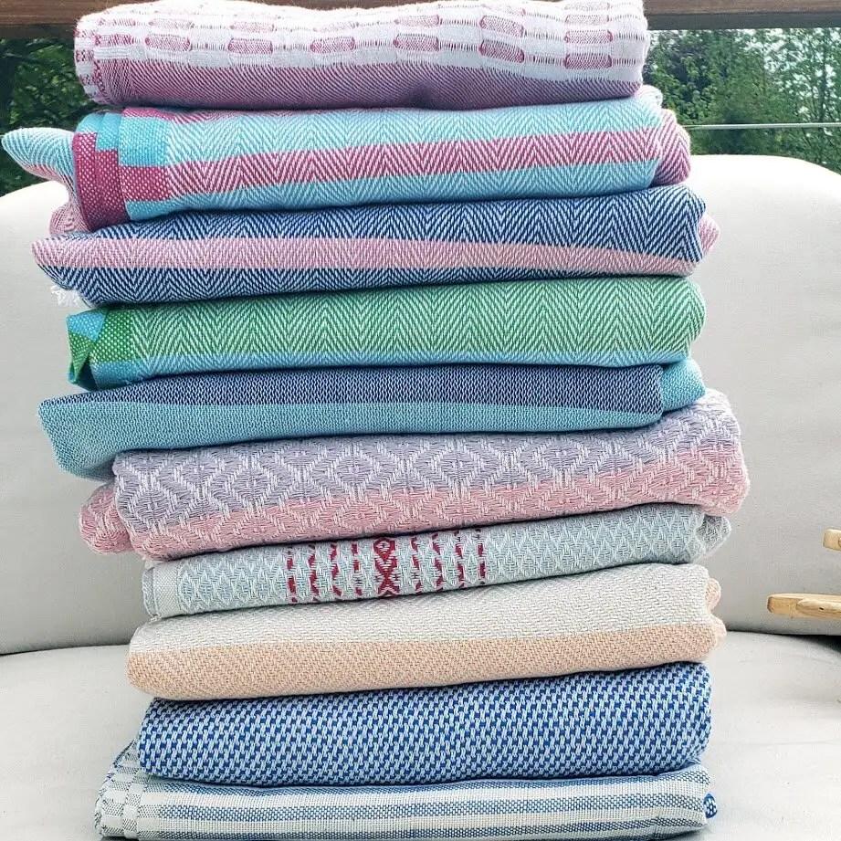 Turkish Towels, 100% Organic Cotton