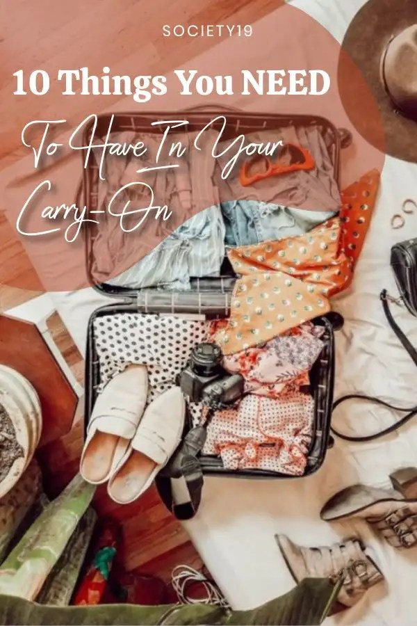10 Things You NEED To Have In Your Carry-On