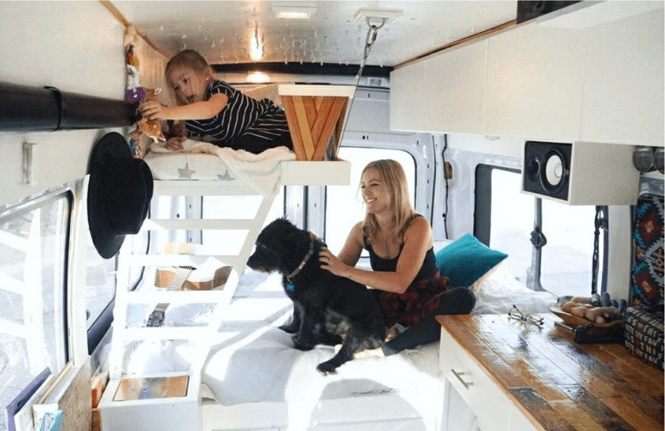 How To Make Van Living Work For A Family