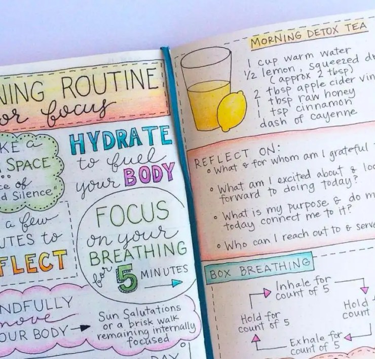 Bullet Journal Style, 5 Things to Keep in Mind When Starting Your Bullet Journal