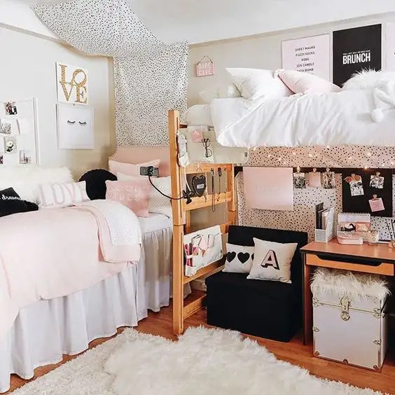 dorm decorations, 15 Dorm Decorations You And Your Roomie Will Love