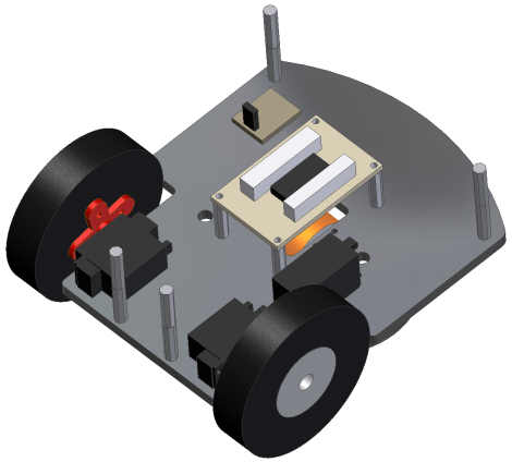 CAD Back View