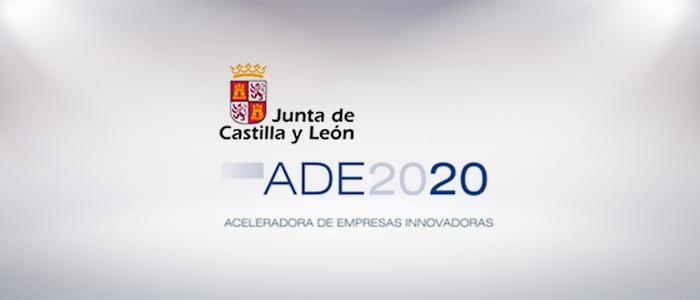 logo de la aceleradora de empresas ADE 2020