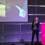 elena martin como ponente de los premios proyectos e ideas innovadoras