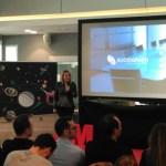 Martín Guerra presenta los resultados de la medición de Sociograph en el Tech Experience en Madrid