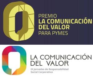 logo del premio la comunicación del valor para pymes