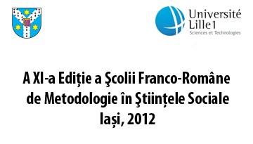 Scoala de Metodologie Iasi 2012