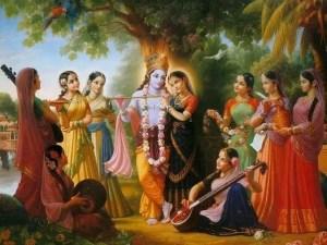 shri krishna wives