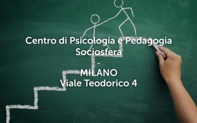 Riapre il Centro di Psicologia e Pedagogia Sociosfera di Milano
