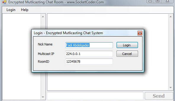RSA and X.509 Multicasting Chat