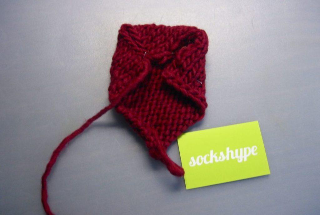 babyschuhe06 babyschuhe stricken Anleitung: Babyschuhe stricken – aus Filzwolle