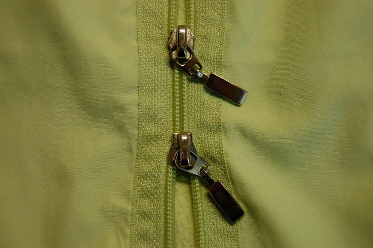 Reißverschluss mit zwei Schiebern auf sockshype Reißverschluss Der Reißverschluss feiert Geburtstag
