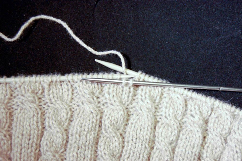 Schal stricken - cowl auf sockshype cowl schal stricken Anleitung: Cowl Schal stricken aus Kaschmir