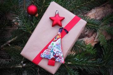 Geschenkanhänger für Weihnachten-8 auf sockshype Weihnachtsschmuck selber Anleitung: Weihnachtsschmuck selber machen