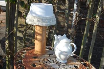 strickband Anleitung: Strickband für Lampenschirm