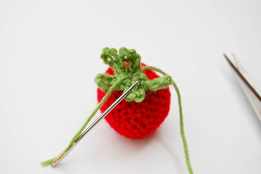 Erdbeeren selber häkeln erdbeeren selber häkeln Anleitung: Erdbeeren selber häkeln
