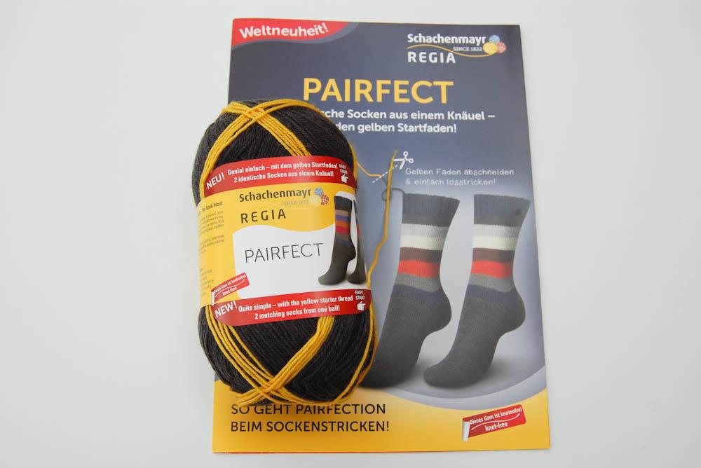 Schachenmayr Regia pairfect  Schachenmayr REGIA PAIRFECT für identische Socken