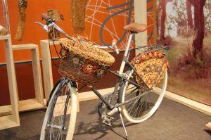 Pimp your bike - Fahrrad aus Korkgarn  Thema des Monats August 2015: Pimp your bike – Pep dein Fahrrad auf