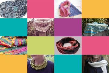 Thema des Monats Oktober 2015: Tücher, Schals und Loops