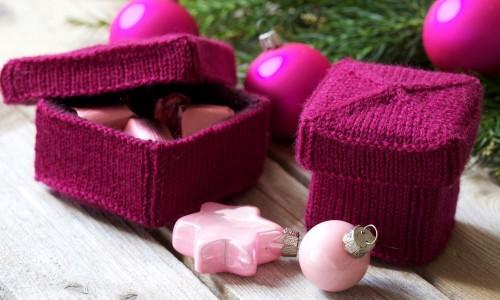 Weihnachtsdekoration selber machen - Geschenkschachtel