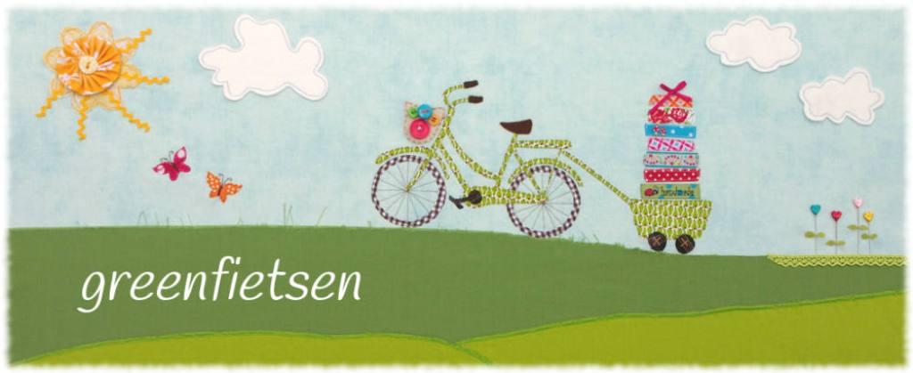 Hübsch gestaltetes Titelbild von greenfietsen  Katharina Märcz von greenfietsen im Interview