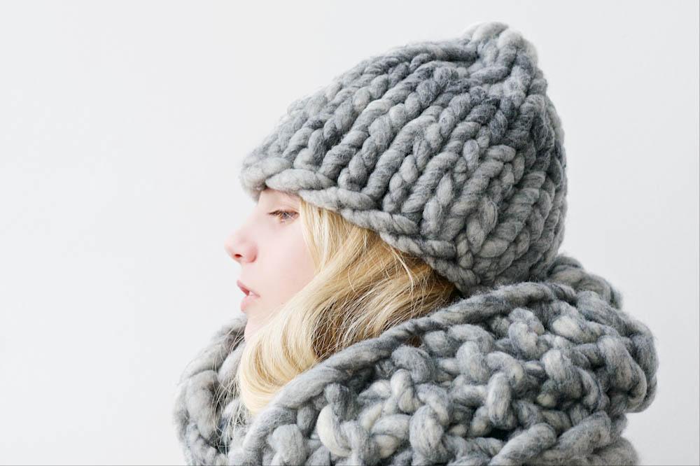 Lebenslustiger - Mütze und Schal dicke Wolle  Anette vom Blog Lebenslustiger im Interview