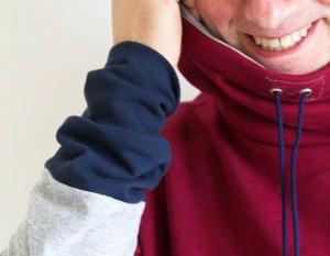 Nähen von Männerkleidung - Männerkragenhoody Loop von Selbermacher 123 männer Im Fokus – Männer und Handarbeiten