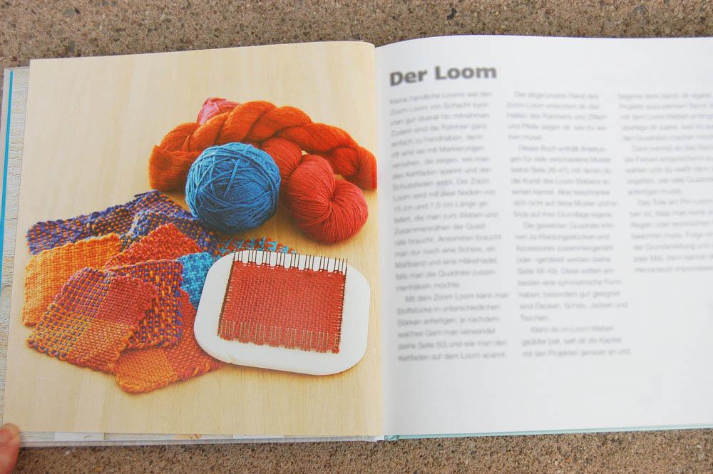 Minis weben mit dem Pin Loom - Der Loom  Buchbesprechung: Minis Weben mit dem Pin Loom von Florencia Campos Correa