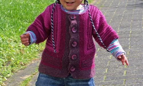 Kinder und Handarbeiten - Baby-Surprise-Jacke