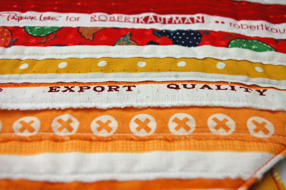 Topflappen aus Webkanten - Export Quality  Anleitung: Topflappen aus Webkanten - mit Verlosung