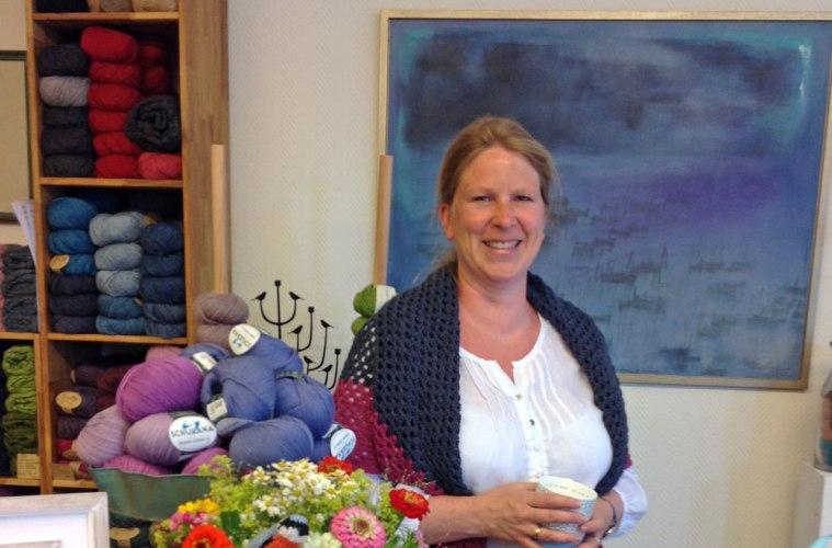 Wolle & Kunst - Tanja Zielinski wolle & kunst Tanja Zielinski im Interview über  Wolle & Kunst  in Neustadt