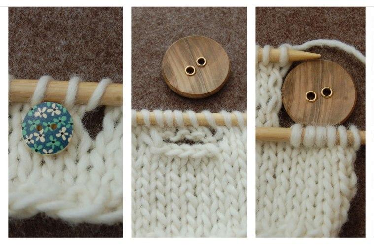 Knopflöcher stricken - Titelbild knopflöcher stricken Stricktipp: Knopflöcher stricken